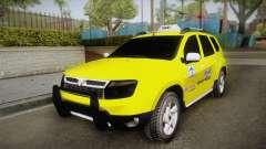 Renault Duster Taxi para GTA San Andreas