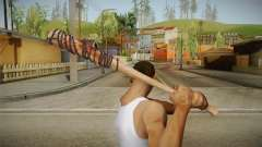Lucille Negan Baseball Bat The Walking Dead para GTA San Andreas