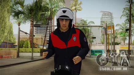 Turkish Police Motorcycle Officer para GTA San Andreas