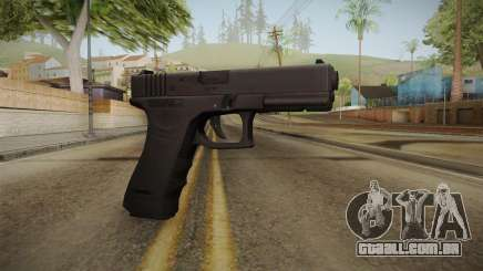 Glock 18 3 Dot Sight Cyan para GTA San Andreas