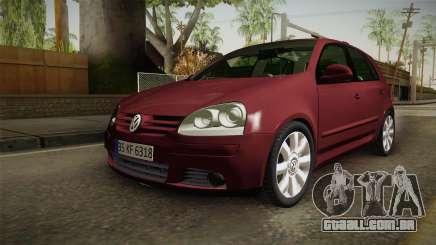 Volkswagen Golf Mk5 para GTA San Andreas