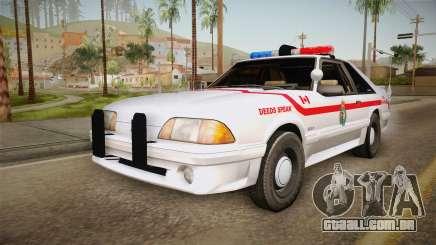 Ford Mustang SSP 1993 YRP para GTA San Andreas