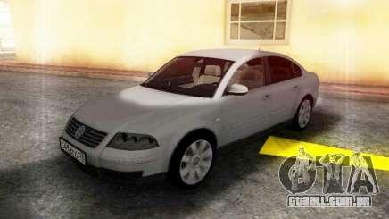 Volkswagen Passat B5 GVR para GTA San Andreas