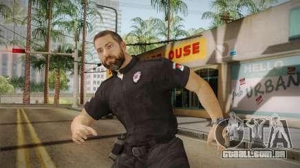 Serbian Border Police Skin para GTA San Andreas