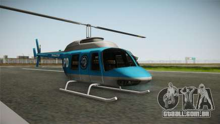 Serbian Police Helicopter para GTA San Andreas