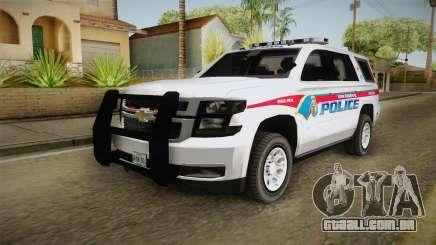 Chevrolet Tahoe PPV 2016 YRP para GTA San Andreas