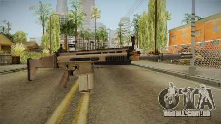 Battlefield 4 FN SCAR-H para GTA San Andreas