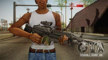 M249 Light Machine Gun v4 para GTA San Andreas