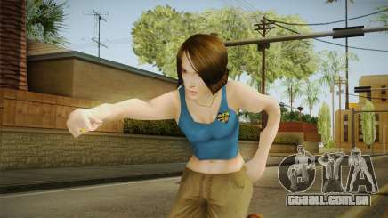 Pinky Gauthier from Bully Scholarship v2 para GTA San Andreas