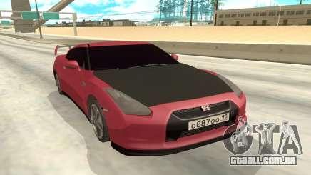 Nissan GTR para GTA San Andreas