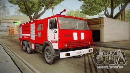 KamAZ 53212 caminhão de bombeiros na cidade de Arzamas para GTA San Andreas