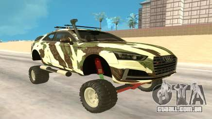 Audi S5 Off Road para GTA San Andreas