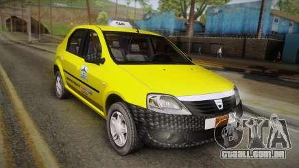 Dacia Logan Taxi para GTA San Andreas