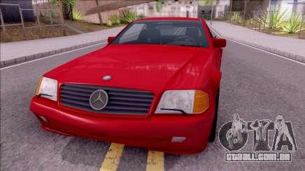 Mercedes-Benz 500SL R129 1989 para GTA San Andreas