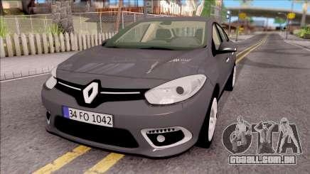 Renault Fluence 2016 para GTA San Andreas
