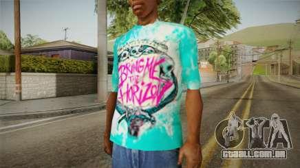 T-Shirt Tragam-Me O Horizonte para GTA San Andreas