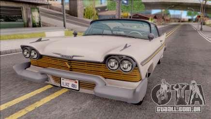Plymouth Fury 1958 HQLM para GTA San Andreas