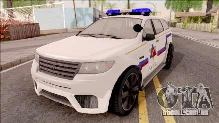 Bravado Gresley Hometown PD 2011 para GTA San Andreas