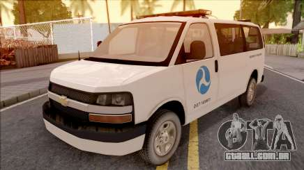 Chevrolet Express San Andreas DOT 2010 para GTA San Andreas
