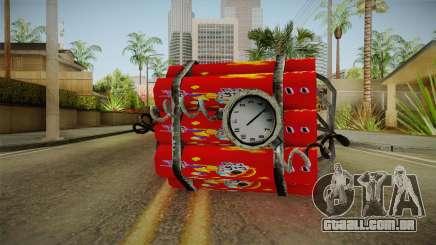 Dynamite With Clock China Wind para GTA San Andreas