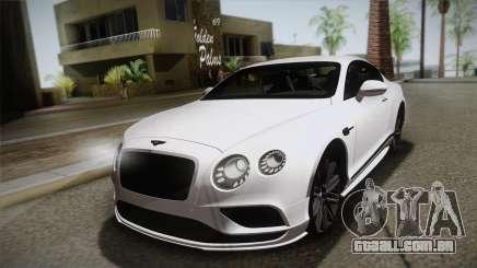Bentley Continental SuperSport para GTA San Andreas