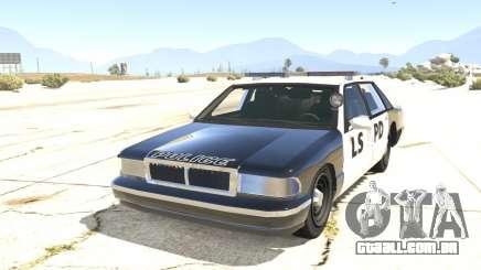 O carro de polícia do GTA San Andreas para GTA 5