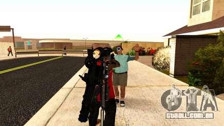 Uma nova visão para rifles e bazucas para GTA San Andreas