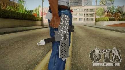 GTA 5 Gunrunning Tec9 para GTA San Andreas