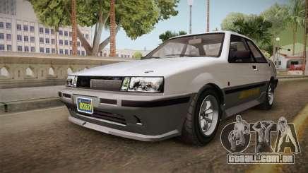 GTA 5 Karin Futo 4-doors para GTA San Andreas