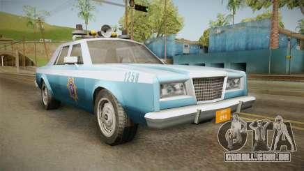 Driver Parallel Lines Zartex Police (LS) para GTA San Andreas