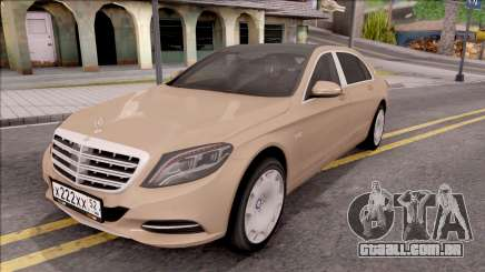 Mercedes-Maybach S600 para GTA San Andreas
