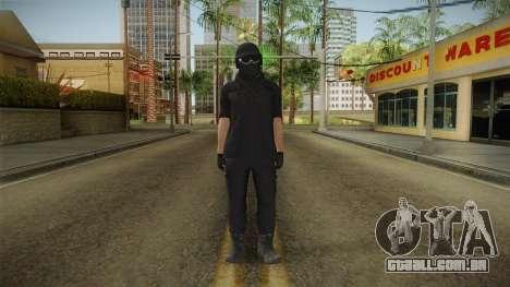 GTA Online: Black Army Skin v1 para GTA San Andreas segunda tela