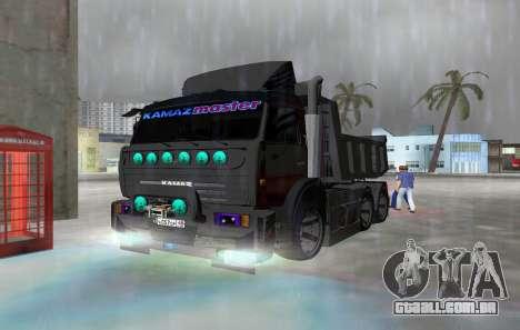 KAMAZ 65115 PRETO NOITE para GTA Vice City