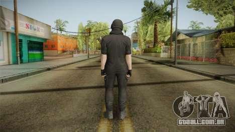 GTA Online: Black Army Skin v1 para GTA San Andreas terceira tela