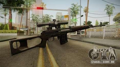 A arma da Liberdade v5 para GTA San Andreas segunda tela
