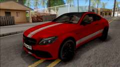 Mercedes-Benz C63S AMG Coupe para GTA San Andreas