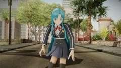 Asuna Yuuki School Uniform v2
