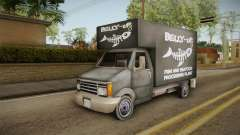 GTA SA DLC - Triad Fish Van para GTA San Andreas