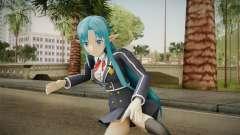 Asuna Yuuki School Uniform v5