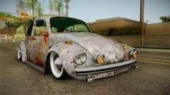 Volkswagen Beetle Rusty