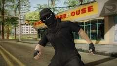 GTA Online: Black Army Skin v1 para GTA San Andreas