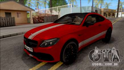 Mercedes-Benz C63S AMG Coupe para GTA San Andreas