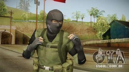 MSF Custom Soldier Skin 3 para GTA San Andreas