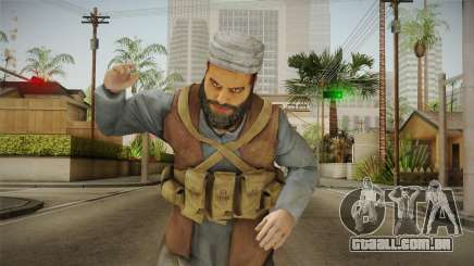 Medal Of Honor 2010 Taliban Skin v8 para GTA San Andreas