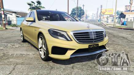 Mercedes-Benz S63 yellow brake caliper [replace] para GTA 5
