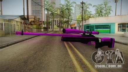 Purple Sniper Rifle para GTA San Andreas