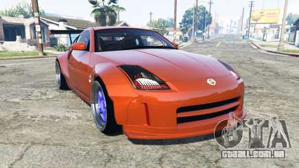 Nissan 350Z (Z33) stardast [add-on] para GTA 5