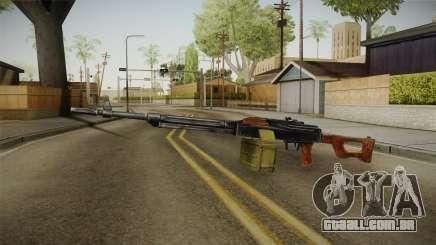 PKM Light Machine Gun para GTA San Andreas