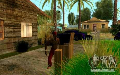 O torneio de Boxe no Grove ST para GTA San Andreas sétima tela