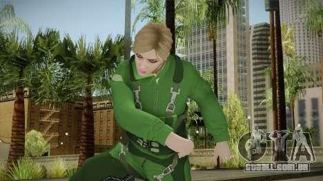 GTA 5 Online Smuggler DLC Skin 2 para GTA San Andreas